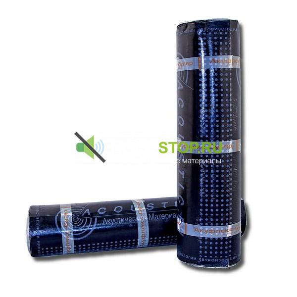 Звуко-гидроизоляция Акуфлекс-Супер 5 мм, 10 м2 - купить по цене от производителя в Москве ✔ Noisestop