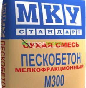 фото: Пескобетон М300 МКУ-Стандарт мелкая фракция 40 кг