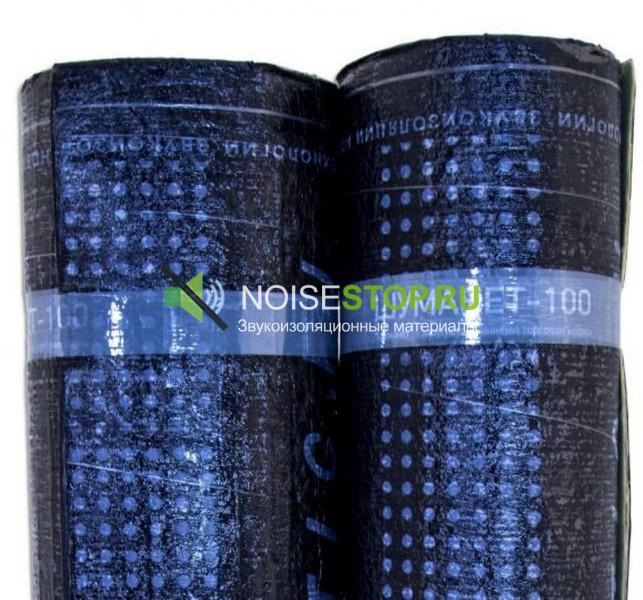 Шуманет-100, рулон 15х1м, толщина 3 мм (15м2) - купить по цене от производителя в Москве ✔ Noisestop