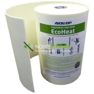 фото: Перфорированая подложка EcoHeat под обои, 5 мм