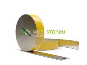 фото: Лента ЗвукоИзол М, рулон 15мх3.5 см, толщина 2 мм
